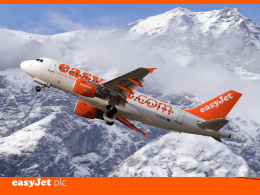 easyJet Perspective - Flight Safety Foundation