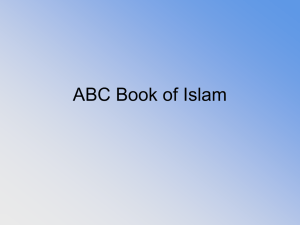 ABC Book of Islam