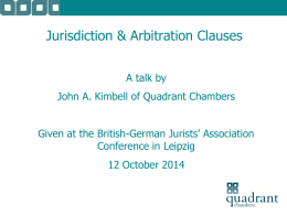 incorporate - British-German Jurists` Association
