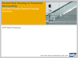 Process 2, Month-End-Closing