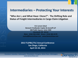 Intermediaries - Protecting Your Interests_Eric_Zalud