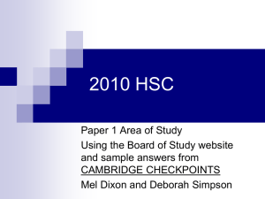 Copy of 2010 HSC ways into the question