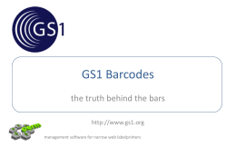 What is GS1?