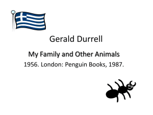 Gerald Durrell - Dr. DR Ransdell