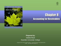 Accounting Principles, 3rd Cdn. Edition