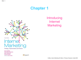 Introducing the scope of Internet Marketing