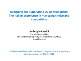 Pension awareness, enrolment, and auto-enrolment