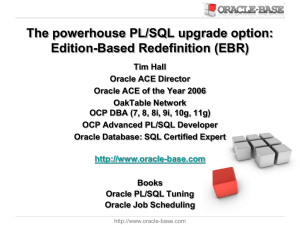 Editions - New Zealand Oracle Users Group