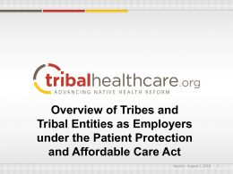 Full-Time Employee - TribalHealthCare.org