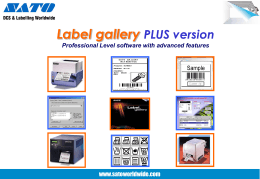 Label Gallery Plus