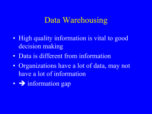 CS-220DataWarehousingFall2014