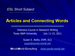 articles-and-connecting-words