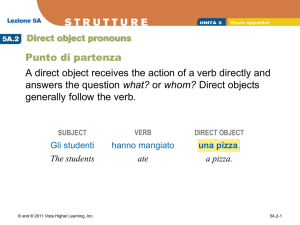 5A.2 Direct object pronouns