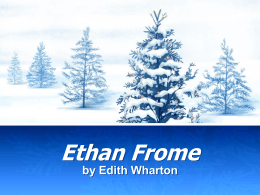 imagery and symbolism in ethan frome