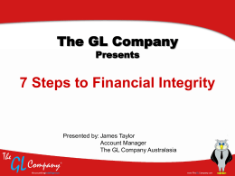 7 Steps to Financial Integrity