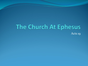 Church in Ephesus - Argyle Community Church