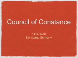 Council of Constance