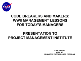 code breakers and makers