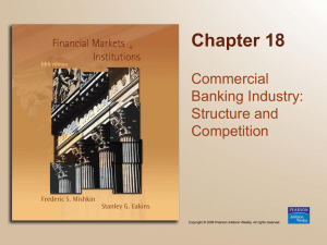 Bank Structure Chapter 18