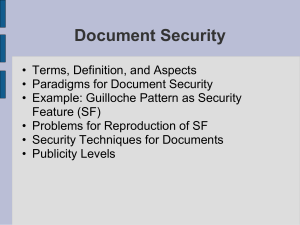 Document Security: Wikipedia