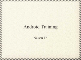 Android_Intro_Training