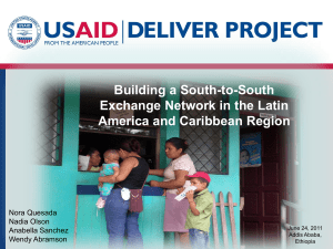 USAID | DELIVER PROJECT PowerPoint Presentation template (01