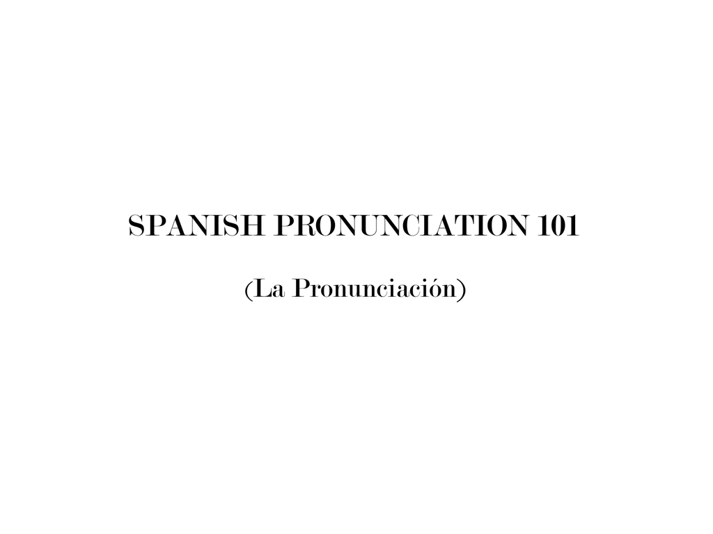 Spanish Phonics Program Sample