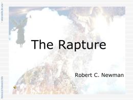 The Rapture - newmanlib.ibri.org