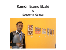Ramon Esono Ebale and Equatorial Guinea
