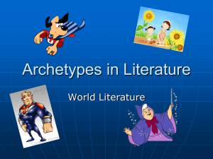 Archetypes in Literature