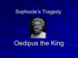 Sophocle`s Tragedy