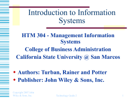 Technology Guide 2 - California State University San Marcos