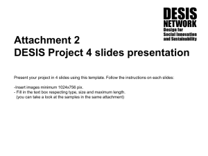 4 Project template