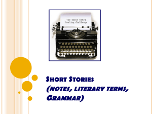 Short Stories PPT