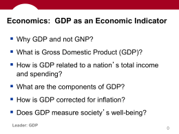 GDP Power Point (Reg)