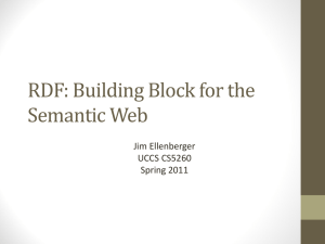 RDP: Building Block for the Semantic Web