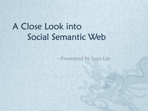 A Close Look into Social Semantic Web