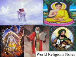 World Religions PPT 2014