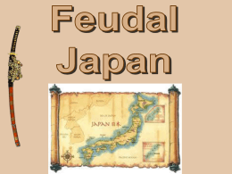 Feudal Japan PPT - Ms. Gleason`s Classroom