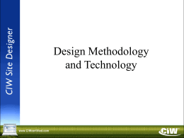 Dsgn Mthd Tech v9 0 Slide Show