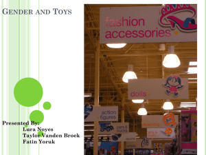 Gender and Toys: