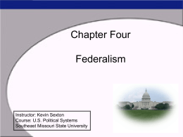 Power Point For Chapter Four - semo.edu