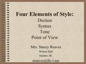 Four Elements of Style