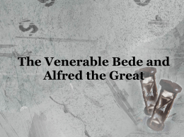 Venerable Bede and Alfred the Great