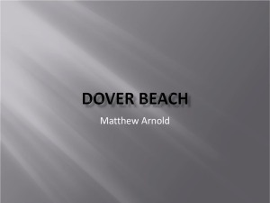 Dover Beach Fu 23-07-10 - English Language and Literature