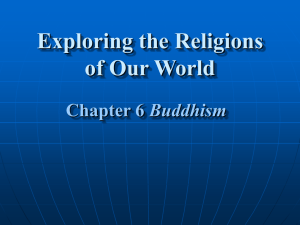 Chapter 6 Buddhism History