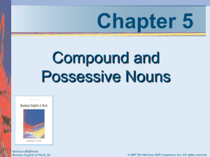 Compound Noun