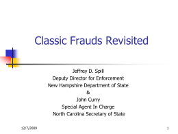 5-Classic-Frauds-1115 - North American Securities