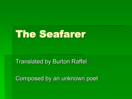 The Seafarer PowerPoint