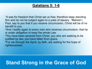 sermons/notes/StandFirmIntheGraceofGod 03062011